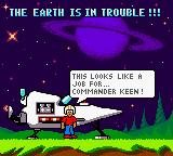 Commander Keen Game Boy Color It's up to Commander Keen to save the earth!