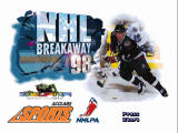 NHL Breakaway 98 Nintendo 64 Title screen.