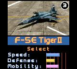 AirForce Delta Game Boy Color Your plane's stats