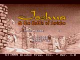 Title screen/main menu