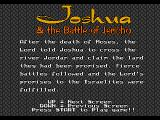Joshua & the Battle of Jericho Genesis The story