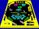 3D-Pinball ZX Spectrum Playing pinball