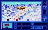 Downhill Challenge Atari ST The three courses vary in difficulty