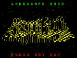 The Sentry ZX Spectrum Aerial view of the selected landscape