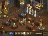 Mystic Inn Windows The Inn is a very busy place.  You can see the owl delivering potions to some far off location.