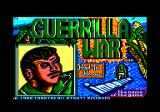 Guerrilla War Amstrad CPC Title Screen