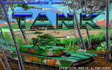 Tank: The M1A1 Abrams Battle Tank Simulation DOS Title screen (16 color EGA)