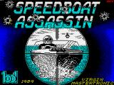 Speedboat Assassins ZX Spectrum Loading screen