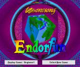 Endorfun Windows Main menu screen.