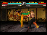 Tekken 3 PlayStation Barely missed.