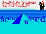 Doomdark's Revenge ZX Spectrum Temples can unleash weird happenings