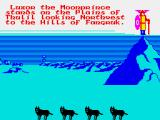 Doomdark's Revenge ZX Spectrum Wolves are an occasional foe