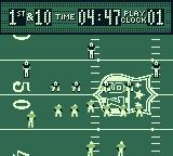Madden 97 Game Boy The play