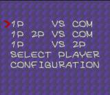 Cacoma Knight in Bizyland SNES Game Menu