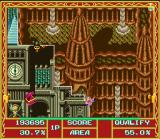 Cacoma Knight in Bizyland SNES Restore an area containing a treasure chest in order to open it