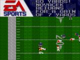 Madden NFL 95 Game Gear A gain of 7 yards