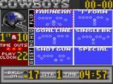 Madden NFL 95 Game Gear Select your play