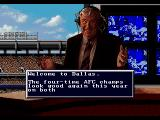 Madden NFL 95 Genesis Welcome to Dallas