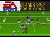 Madden NFL 95 Genesis A gain of 6 yards