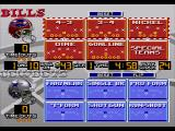 Madden NFL 95 Genesis Select your play