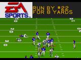 Madden NFL 95 Genesis It was ran for 8 yards