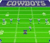 Madden NFL 95 SNES The kickoff