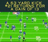 Madden NFL 95 SNES A gain of 13 yards