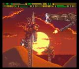 Front Mission: Gun Hazard SNES This desert landscape has seen non-stop fighting for too long