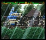 Front Mission: Gun Hazard SNES An ambush in the middle of the forest