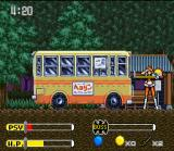 Kendo Rage SNES Japanese School Bus