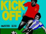 Kick Off ZX Spectrum Loading Screen