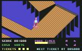720º Commodore 64 Learning on the downhill (U. S. Gold)