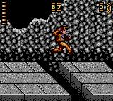 Indiana Jones and the Last Crusade: The Action Game Game Gear Indy holding his hat during a jump...