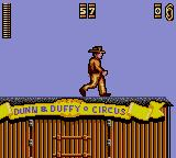 Indiana Jones and the Last Crusade: The Action Game Game Gear Here goes Indy by train.