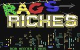Rags to Riches Commodore 64 Title Screen