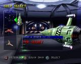 Invasion from Beyond PlayStation Hangar Menu - Ship select