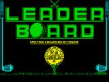 Leader Board ZX Spectrum Loading screen