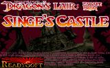 Dragon's Lair: Escape from Singe's Castle DOS VGA title screen