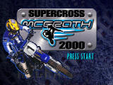Jeremy McGrath Supercross 2000 Nintendo 64 Title screen.