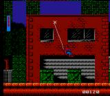 Spider-Man: Return of the Sinister Six NES Here's Spidey performing Tarzan.
