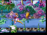 Rayman PlayStation Riding on a mosquito.