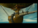 O.D.T.: Escape... or Die Trying PlayStation Intro - the Nautiflyus is still flying safely.