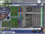 Euro Club Manager 2003-04 Windows Team tactic setup