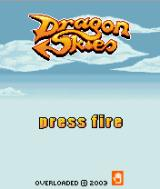 Dragon Skies J2ME Title screen