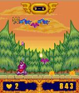 Dragon Skies J2ME Dragons in the forest world