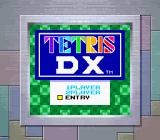 Tetris DX Game Boy Color Title Screen