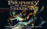 Prophecy of the Shadow DOS Title screen