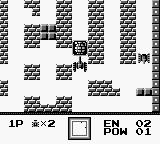 Battle City Game Boy Keep an eye out for power-ups.