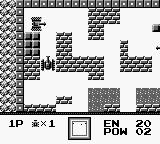 Battle City Game Boy Larger tanks are slower, but take more hits.