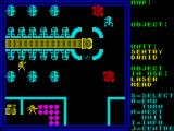 Rebelstar ZX Spectrum Advancing through the complex